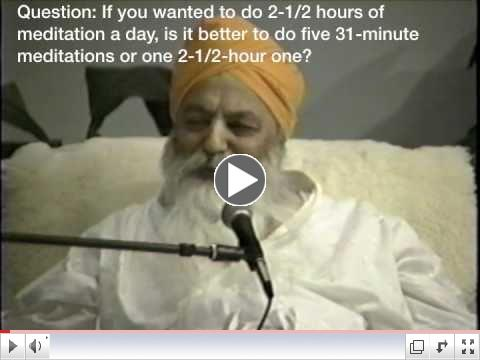 Yogi Bhajan Speaks About 10 Bodies, 7 Chakras, and Meditation