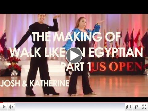 The Making of Walk LIke an Egyptian