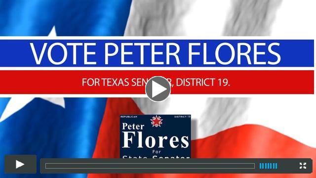 Vote Peter Flores for Texas Senate District 19