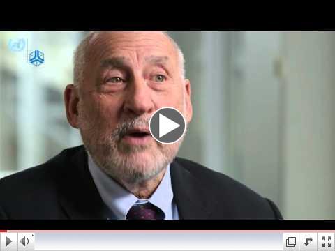 Joseph Stiglitz on the Sustainable Development Goals #globalgoals/ UNU-Wider