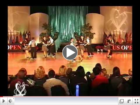 Teams Division Winners - The California Rolls::2009 US Open Swing Dance Championships