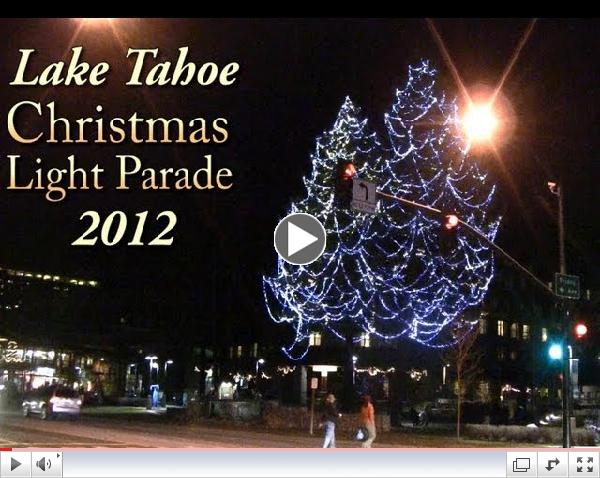 Light Up South Lake Tahoe Christmas light parade