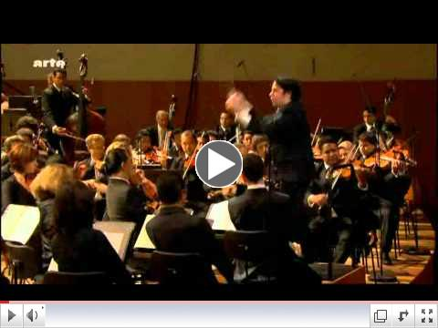 Berlioz Symphonie Fantastique, Orch Phil Radio France & S Bolivar Youth Orch G  Dudamel Mvt1 Rêveries   Passions Part1
