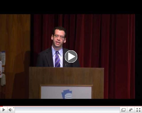 Ian David Moss Keynote | Arts and Education Symposium, October 30, 2013