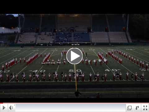 Watch the Marching Band play at Homecoming