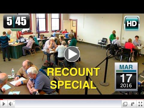 5:45 News coverage of the Recount