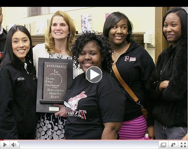 Outstanding Principal Award: Dr. Heidi Houy