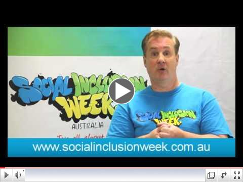 Jonathon Welch AM on Social Inclusion Week 2015