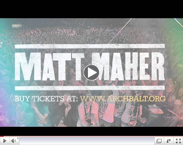 Matt Maher Concert | Archdiocese of Baltimore | September 21, 2014