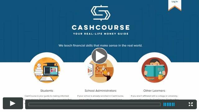 Take a Tour of CashCourse