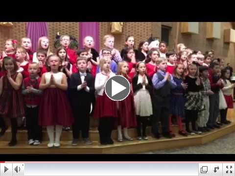 Little Drummer Boy sung by the 2nd Grade during last week's Choral Concert!
