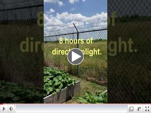 Green Thumb At 60 - Video #2 - Placing Raised Beds
