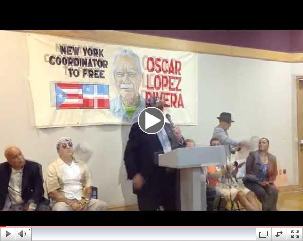 Press Conference: In support of National Puerto Rican Parade Tribute to Oscar Lopez