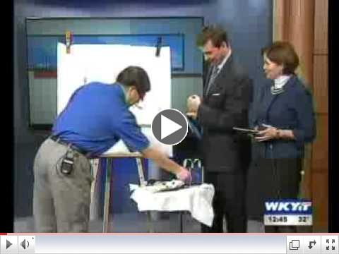 Professor Dongfeng Li at WKYT - Feb 7, 2011