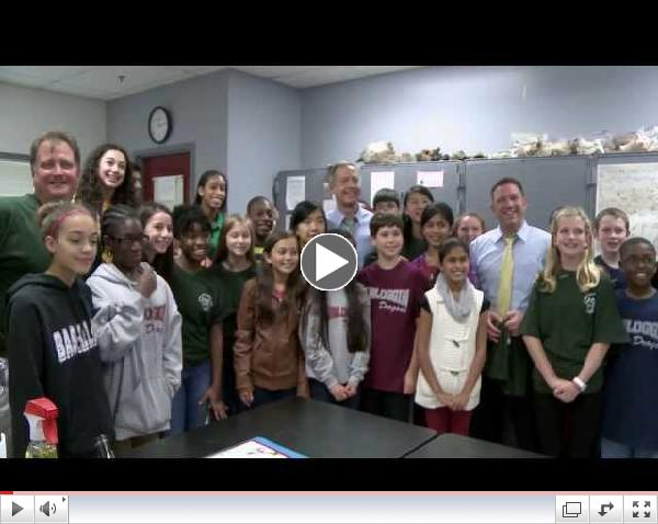 Governor O'Malley Visits Dunloggin Middle School