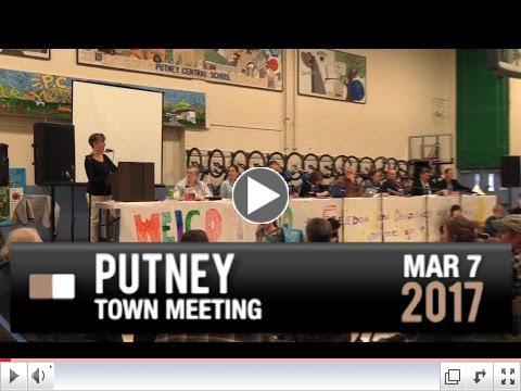 Putney Town Meeting