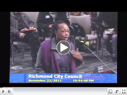 Real Jobs for Richmond - vote Nov. 6th for a city council that understands our resilient community