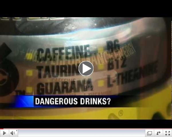Energy Drinks Especially Dangerous for Teens