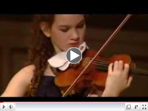 Hilary Hahn performs Schubert's