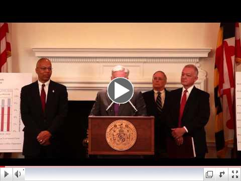 Governor Hogan Announces FY 2016 Budget