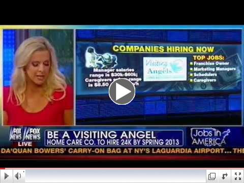 Visiting Angels on Fox & Friends
