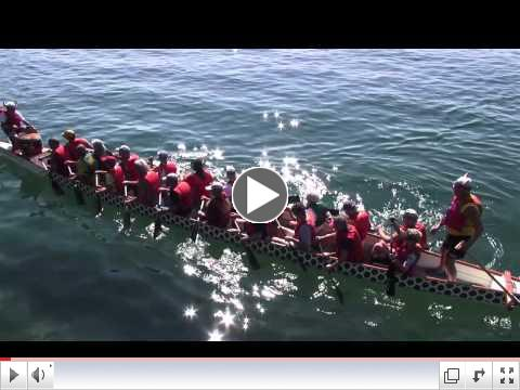 Dragon Boat Racing Video by GravityShots.com