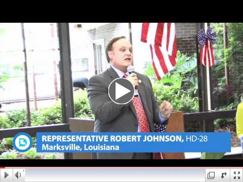 Rep. Robert Johnson of Marksville on the Jindal Veto of Dabadie Funding