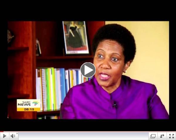 Vi�tal vi� Phumzile Mlambo-Ngcuka framkv�mdast�ru UN Women � tilefni af �tkomu sk�rslunnar