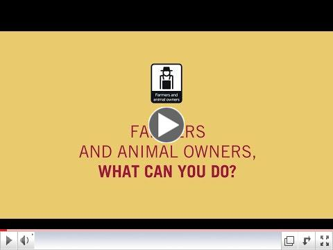 #AntiMicrobialResistance Farmers and animal owners, what can you do?