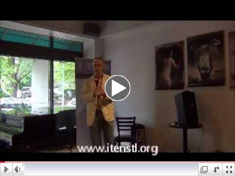 ITEN 2nd Thursday Speaker Series May 08 2014