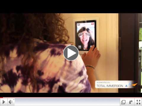 First iPad 2 Augmented Reality Application : AR Magic Mirror augmented by Total Immersion