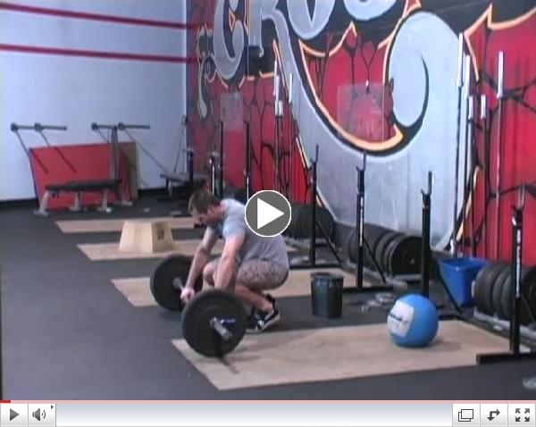 CrossFit - Snatch Complex with Rory Mckernan