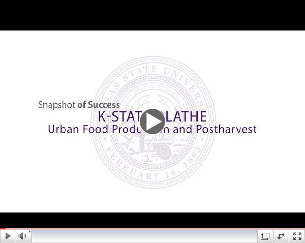2014 State of the University   Urban Food Production and Postharvest