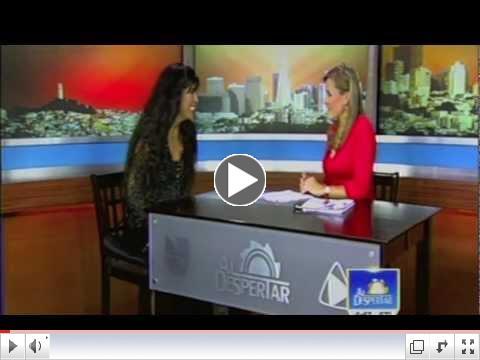 Univision Entrevista con Viviana Guzman, Interview on Univision