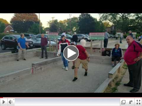 Bocce League Video - June 5, 2017 ( #6)