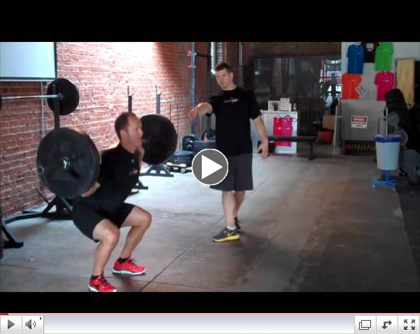 :: Back squat technique tips with crossfit coach Brian English ::