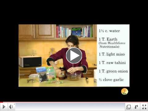 Earthy Miso Tahini Noodle Bowl