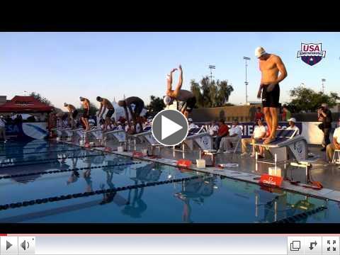 Arena Pro Swim Series at Mesa: Men's 100m Free A Final