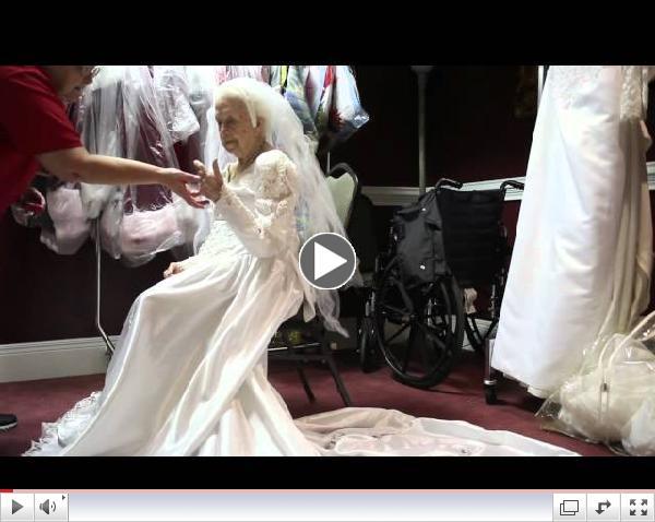 100 Year Old Bride