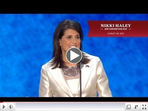 South Carolina Governor Nikki Haley