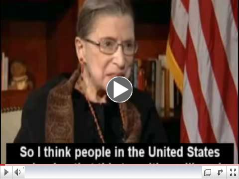 Supreme Court Justice Ginsburg Defames U.S. Constitution.@ 2:23