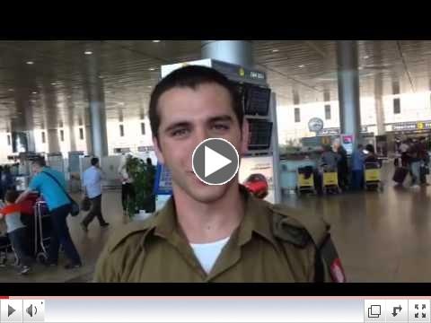 Gil, Soldier on Indiana Hillel Birthright trip for 10 days expresses his feelings of what the trip did for him and the students.