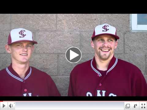 Post Game Interview with Max Deering and Paul Twining