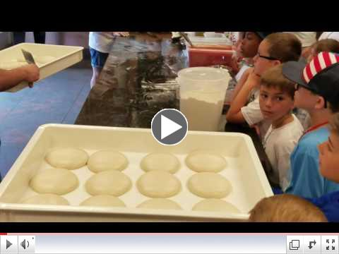 Pizza Making Day (Video Clip 1) - Summer Camp, Day 7 - June 27, 2017