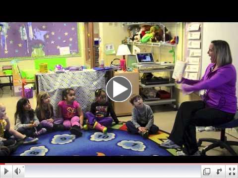 A peek inside the Grove Children's Preschool program
