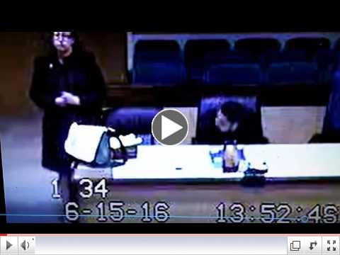 Part 2 Heart wrenching video between the Judge Hughes and a minor defenseless child.