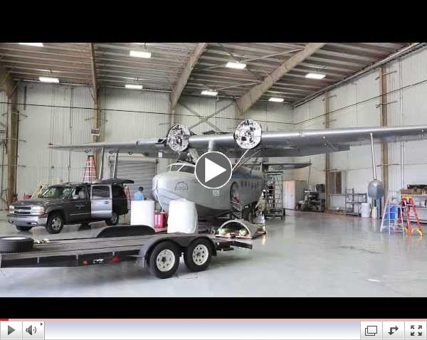Sikorsky S-43 Disassembly and Move to Fantasy of Flight - Part 1