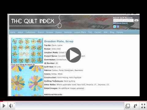 Cruise & Use the Quilt Index: Browse by Pattern