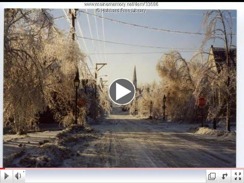 Episcopal Relief & Development Responds to 1998 Ice Storm in Maine