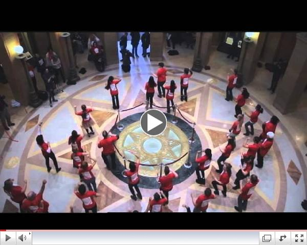 Flashmob Takes Over the Minnesota Capitol